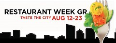 Restaurant Week 2015 ran from August 12-23 in Grand Rapids.