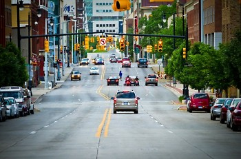 Division Ave. N in Grand Rapids, MI.