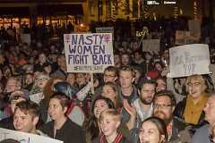 #NotMyPresident march in Grand Rapids on Thursday, November 10, 2016