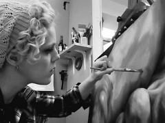 Artist Miranda Graham