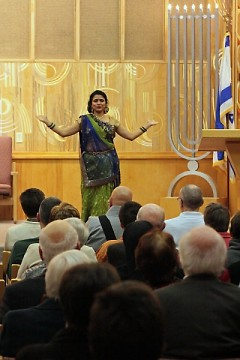 Smita Chandra of the West Michigan Hindu Temple