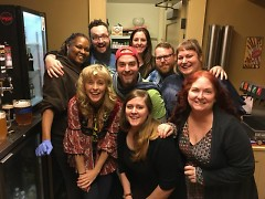 Wealthy Theatre staff with Maria Bamford/ by Brian Kelly