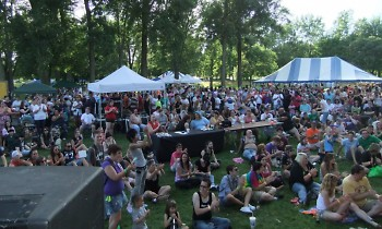 Last year's Pride Festival was held at Riverside Park. This year's festival will be held downtown at Calder Plaza.