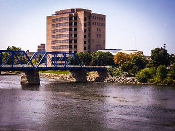 Grand Valley State University's Pew Campus in downtown Grand Rapids.