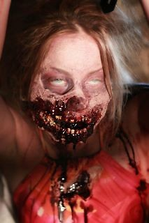 "A zombie for the upcoming film series, ""The Last Broadcast"", directed by Michael G. Petersen."