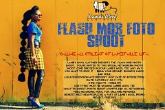 The Flash Mob Foto Shoot will take place on July 14th at Division and Crescent (just east of the intersection)
