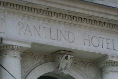 Pantlind Hotel inscription