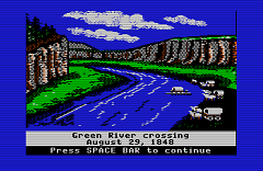 """Ford the River,"" the computer game"