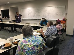Work groups met diligently this summer to tackle neighborhood projects in Heartside.