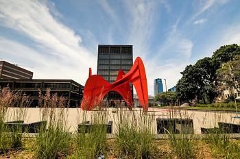 Calder Plaza in Grand Rapids, MI