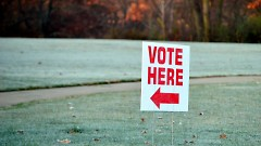 Voters on Tuesday elected republicans to a majority of state and federal positions..