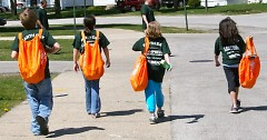 Volunteers of all ages came out for last year's Grand River GreenUp, which coincided with Earth Day