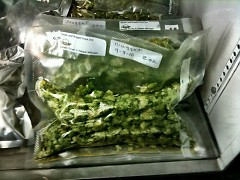 Locally-grown hops