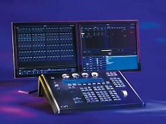 ETC ION 2000 lighting console.