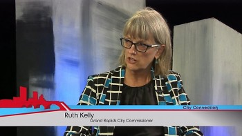 Ruth Kelly on a previous episode of City Connection