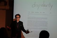Heather Hughesian presenting Dispolarity
