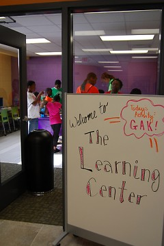 Each Club locaion has a learning center dedicated to helping youth succeed in school and beyond.