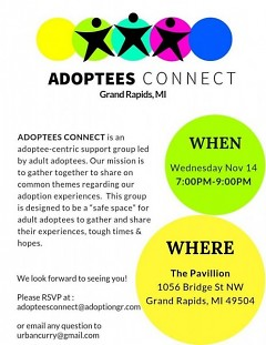 Adoptees Connect - Grand Rapids