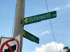 Butterworth and Indiana intersection