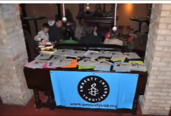 More than 500 letters were created as part of the Dec. 6 Write For Rights event at Mangiamo's, as part of Human Rights Week
