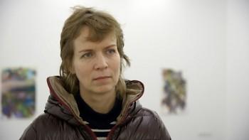 Katharina Grosse, an ART21 juror for ArtPrize