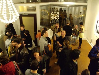 Opening at the Stache Gallery on the Avenue for the Arts