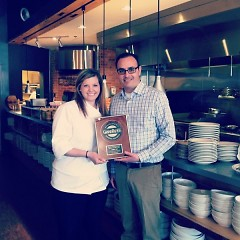 On Feb. 19, Grand Rapids Magazine named Terra GR Best New American Restaurant.