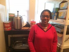 For Beulah Guydon, providing food is an important part of her after-school program at Positive Options Inc. on Eastern Avenue.