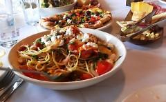 Typical local-food fare, Bistro Bella Vita