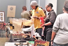 Small business owners at the Black Market and The Shift Summit in November