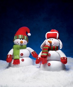 Customers can support their local Boys & Girls Clubs by purchasing the snowmen. Each one costs $4.99 in Nov. and $2.99 in Dec.