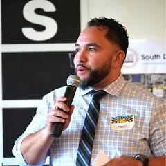 "Adnoris ""Bo"" Torres, the new Executive Director of the Hispanic Center of Western Michigan"