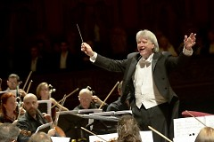 Guest Conductor Carl St. Clair worked with Leonard Bernstein at Tanglewood Music Center.