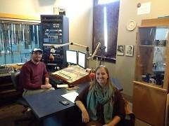 Host John Williamson speaks with Katelyn Kovalik