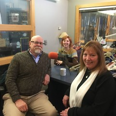 Host Jessica Gladden speaks with Jay Schrimpf and Sue Davidson from Bethlehem Intergenerational Center