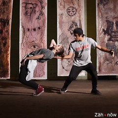 Maddie Young and Antonio Jaimes dance as a part of Cultura Collective