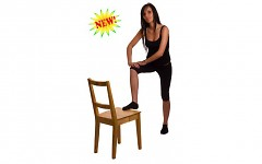 Chair Yoga is for you if you would like to begin with a gentle class.