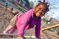 Children enjoy Cherry Park, one of the 73 city parks