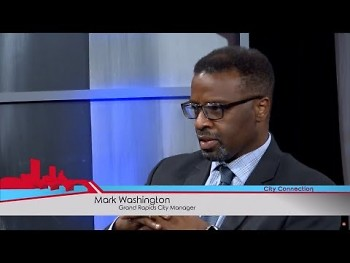 City Manager Mark Washington on a previous episode of City Connection