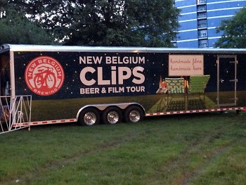 From the most recent annual fundraiser; The Clips. Beer and Film Tour