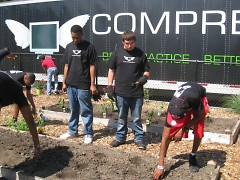 Local nonprofit Comprenew is employing several youth this summer as part of GRCF's jobs training program.