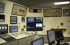 Covanta Control Room where air emissions are monitored