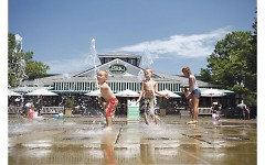 splash pad plaza