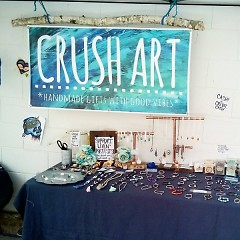 Crush Art Vendor Booth