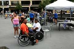 Rosa Parks Circle will again be the site for tomorrow's annual celebration of the Americans With Disabilities civil rights act.