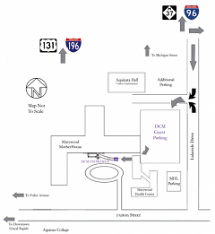 Map to free DCM Parking