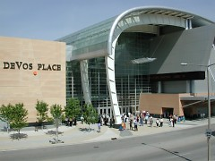 """DeVos Convention Center, where Jones will host """"Forms of Production"""""""
