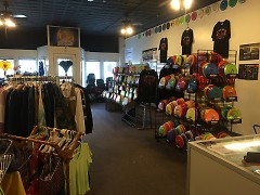 Mystic Realms sells an assortment of disc golf equipment along with items with a fantasy theme