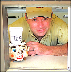 Ross Rockwell owns and operates the new Dizzy Dog, located at 1757 Plainfield
