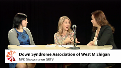 April Sawhill and Lindsey Kloeckner on GRTV's NPO Showcase